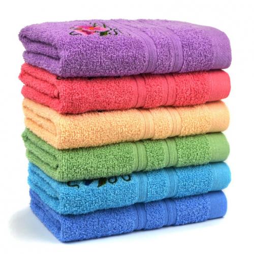 Полотенце банное с вышивкой (Москва)