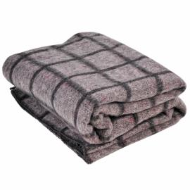 Одеяло шерсть клетка 140*205 (Ткачук)
